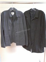 Lot of 2 Mens Jackets - Old Navy Sz L & Other
