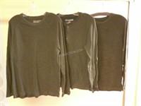 Lot of 3 Denver Hayes Mens Shirts Sz (2) L (1) M