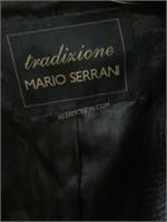 Tradizione Mario Serrani Mens Wool Trench Sz 46