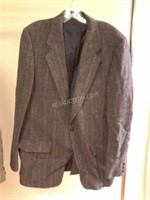 Harris Tweed Mens Virgin Scottish Wool Mens Jacket