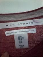 Lot of 2 Ladies Tops Sz M - Max Studio Merino
