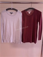 Lot of 2 Ladies Tops Sz M