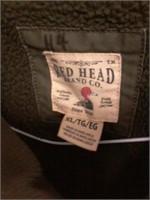 Red Head Mens Vest Sz XL
