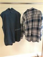 Lot of 2 Mens Outerwear Sz M - Wrangler & Dakota