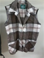 Lot of 2 Vests - Canadian Lumber Jack & Other