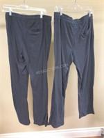 Lot of 2 Ladies Denver Hayes Ladies Pants Sz S