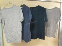 Lot of 4 J Crew Mens T-Shirts Sz S