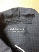 All Saints Mens Shirt Sz XS