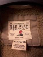 Red Head Mens Coat Sz XL