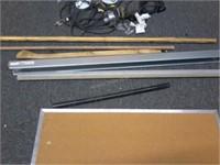 Lot of Asstd Items -Cork Board, Electrical, etc
