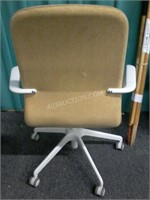 Lot of 2 Adjustable Desk Chairs on Casters