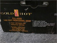 NEW Gold N' Hot Hood 1400W Professional Dryer $60