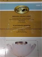 Hamilton Bay Makasa Ceiling Light - Appears NEW