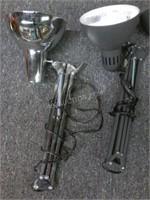 Lot of 5 Adjustable Desk Lamps
