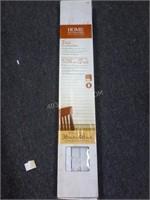 "NEW Home Decorators 2"" Faux Wood Blinds $49"