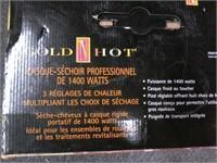 NEW Gold N' Hot Hood 1400W Professional Dryer $60