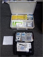 Lot of 2 First Aid Kits Life Brand Kit Appears