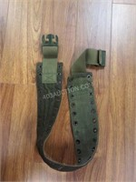 Lot of 5 Straps and Army Belt