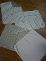 Lot of 4 George Baby Blankets - Appears new