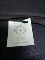 NEW Manufactus Betty Maxi Leather Journal $45