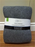 NEW Mainstay Fleece Blanket - Queen