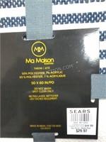 "NEW Ma Maison Throw 50"" x 60"" MSRP $44"