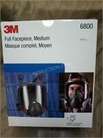 NEW 3M Full Facepiece -Medium 6800