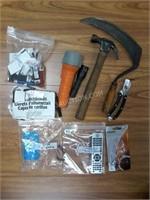 Lot of Asstd Tools, Flashlights, Matches, etc