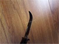 Rubber Prop Buck Knife & Stab Plate