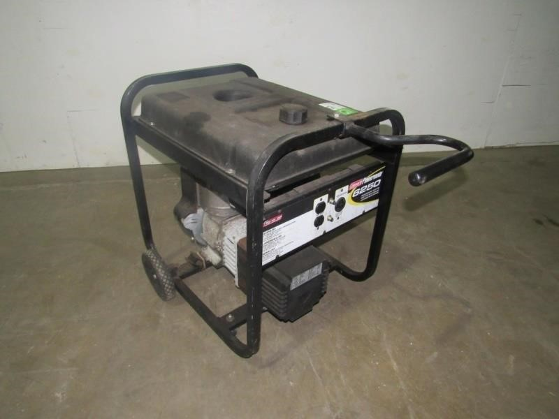 Coleman Powermate Generator- | Compass Auctions & Real Estate