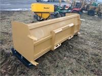 "New-Skid Steer QA Snow Pusher Measures 93"" Wide"