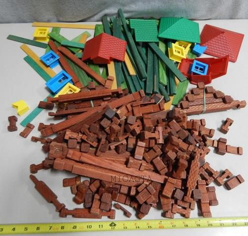 B2 Vintage Lincoln Logs Michigan