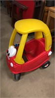 Little Tikes Red/Yellow Car
