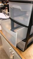5 Drawer Plastic Shelf
