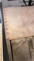 Partially Finished Slant Front Desk