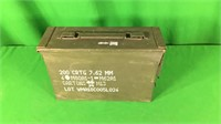 7.62mm Metal Ammo Can-Empty