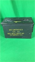 .50 Cal. Metal Ammo Can- Empty