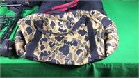 Hunting Backpack, 2- Duffel Bags & Sm.Luggage Cart