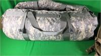 Lg. Camo Duffle Bag & Backpack Style Ammo Belt
