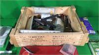 Ammo Box, Gun Accessories, Gloves, Etc.