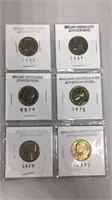 Uncirculated Jefferson Nickels 1957-1980