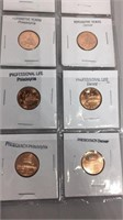 2009 Lincoln Cents Set