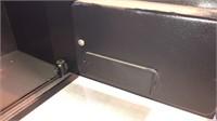 Keyed Pistol Case/ Bike Lock/ With Safe