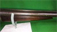 20 Ga. Ithaca Double Barrel Shotgun- Wood Stock
