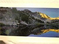 "Signed Stephen Lyman""Sunrise in the Wallowas""Print"