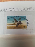 Signed Jack DeLoney Alabama Waterfowl Stamp