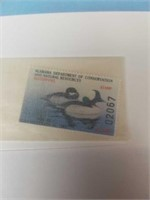 Signed William C. Morris Ducks in the pond 66/1500