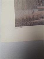 """Signed M. Lenoir """"After the Days Catch"""" 357/2000"""