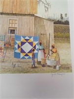 "Signed Jack Meyers ""Airing The Quilts"""