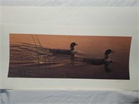 "Signed Daniel Smith ""Twilights Calling"" Print"
